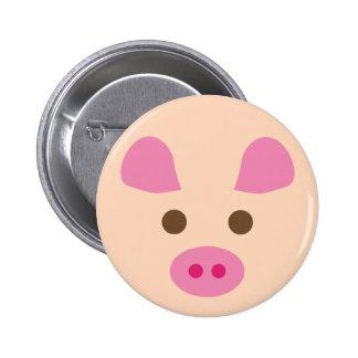 PinkPig9 6 Cm Round Badge