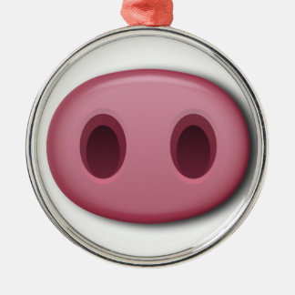 PinkPig Snout Christmas Ornament