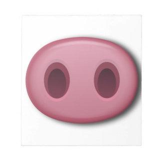 PinkPig Snout Notepad