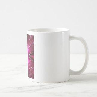 PinkRose Petal Ark - Illuminated Sparkle Coffee Mugs