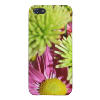 Pinks and Greesn Floral Arrangement iPhone 5 Cases