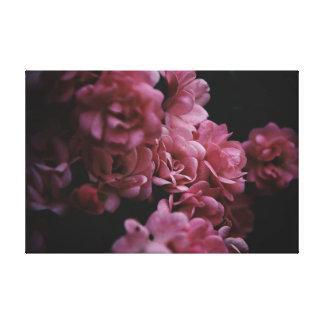 Pinks darker canvas print