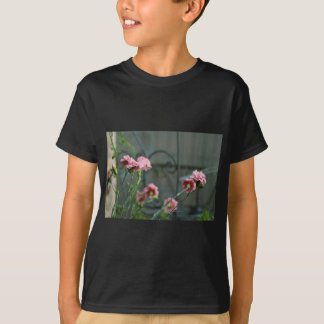 Pinks growing in a Cotswold Garden T-Shirt