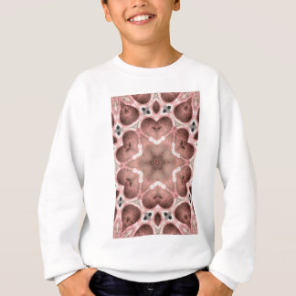 pinks kaleidoscope sweatshirt