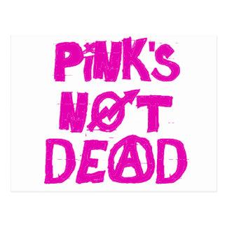 Pink's Not Dead Postcard