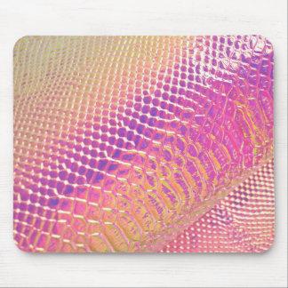 Pinks Snake Skin Mouse Mat