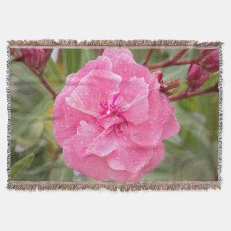 Pinks Throw Blanket