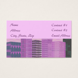 Pinkscape Business Card