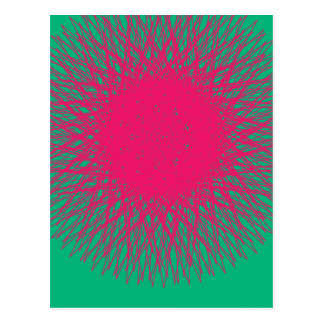 pinky abstract postcard