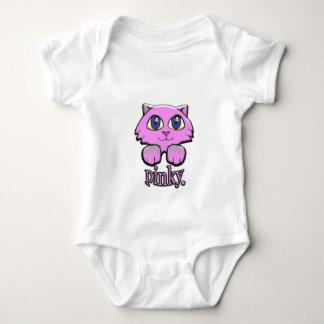 pinky baby bodysuit