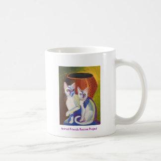 Pinky & Bleu II Basic White Mug