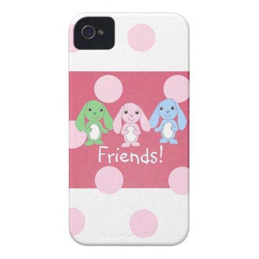 Pinky Bunny & Friends Blackberry Case