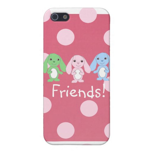 Pinky Bunny & Friends iPhone4 Case Covers For iPhone 5
