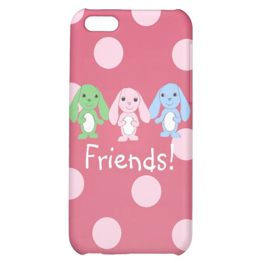 Pinky Bunny & Friends iPhone4 Case Case For iPhone 5C