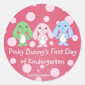 Pinky Bunny Sticker 1