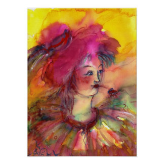 PINKY CLOWN POSTER