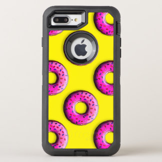 Pinky Donut with colorful sprinkles + your ideas OtterBox Defender iPhone 8 Plus/7 Plus Case