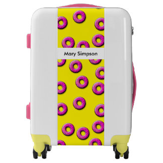 Pinky Donuts seamless pattern + your ideas Luggage