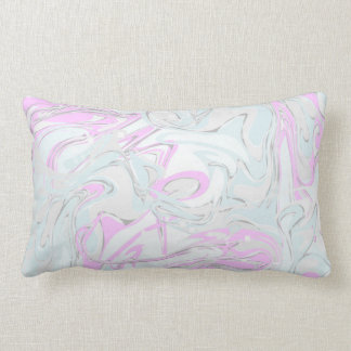 Pinky marble texture for trendy interior lumbar cushion