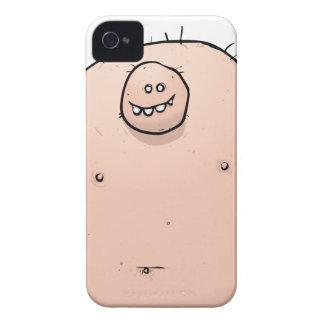 Pinky Monster Weirdo Cartoon Character iPhone 4 Cases