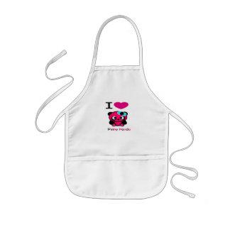 Pinky Panda Bear Aprons
