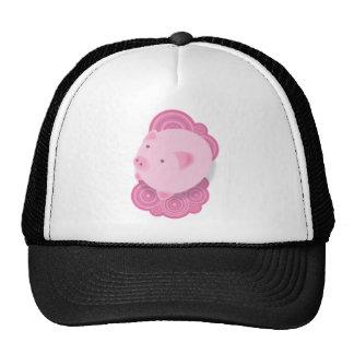 Pinky_Pig Mesh Hats