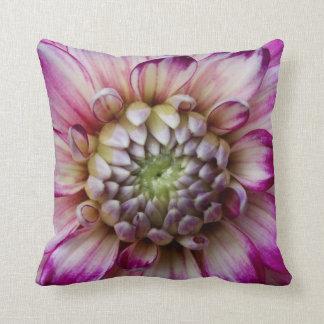 Pinky/Purple Dahlia Cushion