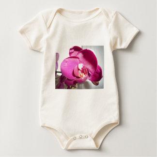 Pinky Purple Orchid Baby Bodysuit