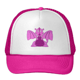 Pinky the Lil Dragon Truckers Cap