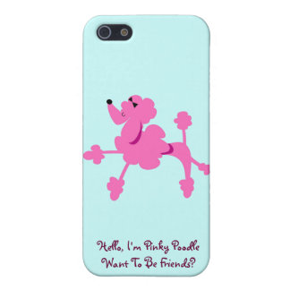 Pinky The Poodle Case Savvy Matte Finish iPhone 5C Case For iPhone 5/5S