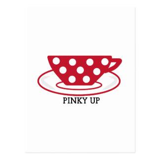Pinky Up Postcards