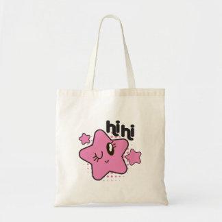 Pinky Winky Star Tote Bag