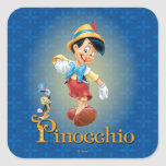 Pinocchio with Jiminy Cricket 2 Sticker
