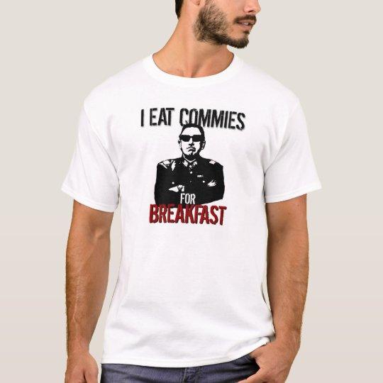 Pinochet – I Eat Commies for Breakfast T-Shirt
