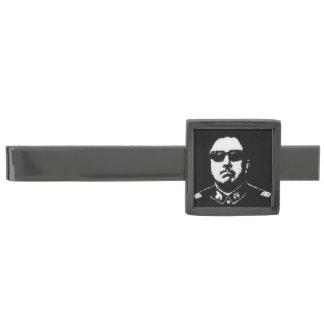 Pinochet Tie Bar Gunmetal Finish Tie Clip