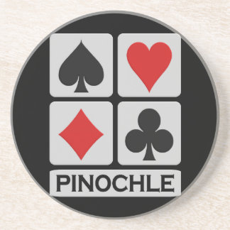 Pinochle coaster