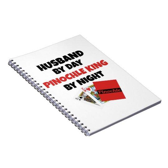 Pinochle King Husband Notebooks