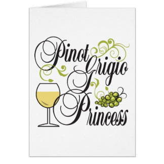 Pinot Grigio Princess Card