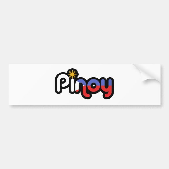 Pinoy Bumper Sticker