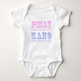 Pinoy-Kano Neutral Baby Creeper