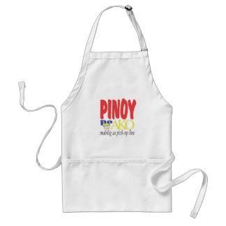 Pinoy po Ako Mahilig sa pickup lines Apron