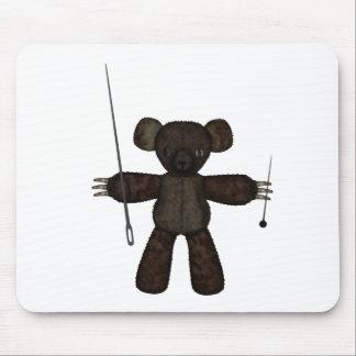 Pins & Needles 3D Bear Mousepad