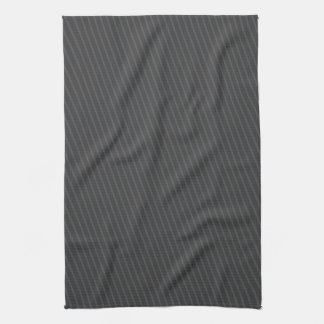 Pinstripe Grey Tea Towel