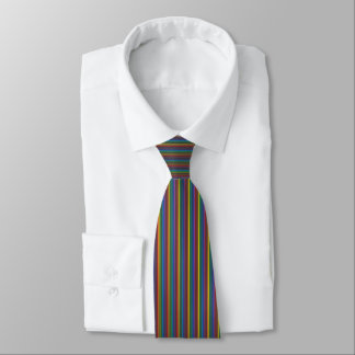 Pinstripe Rainbow Tie