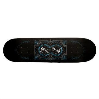 Pinstripe Rust Coast Deck 21.6 Cm Old School Skateboard Deck