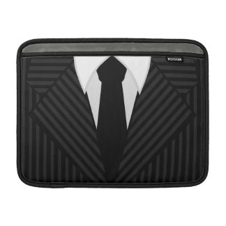 """Pinstripe Suit 13"""" Macbook Air Sleeve Horizontal"""