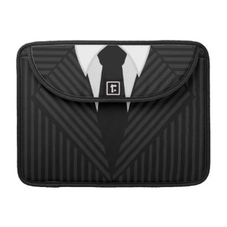 "Pinstripe Suit and Tie 13"" Macbook Pro Sleeve"