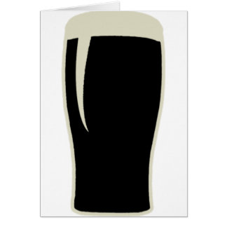 Pint o' Stout Card