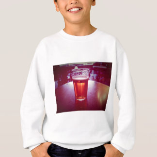Pint of British ale beer in a pub Sweatshirt