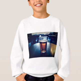 Pint of British ale beer Sweatshirt